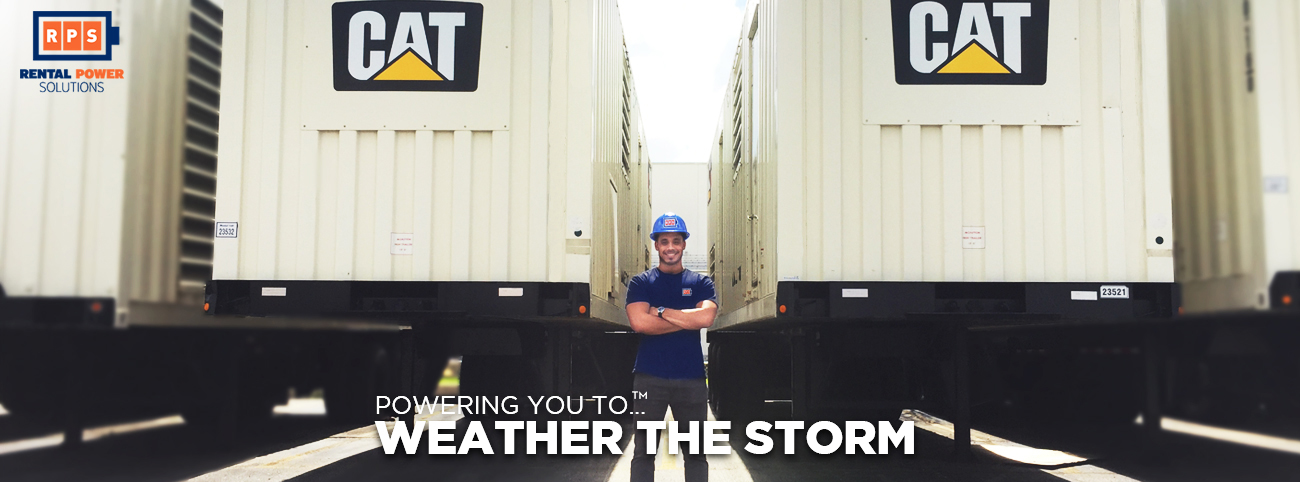 Rental Power Solutions - Weather the Storm